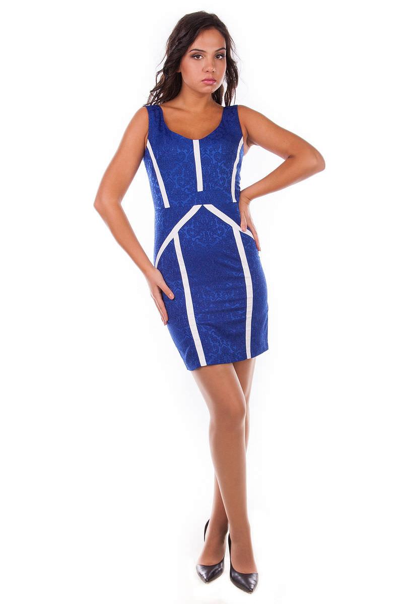 Платья трикотажные оптом от производителя Платье Лиза