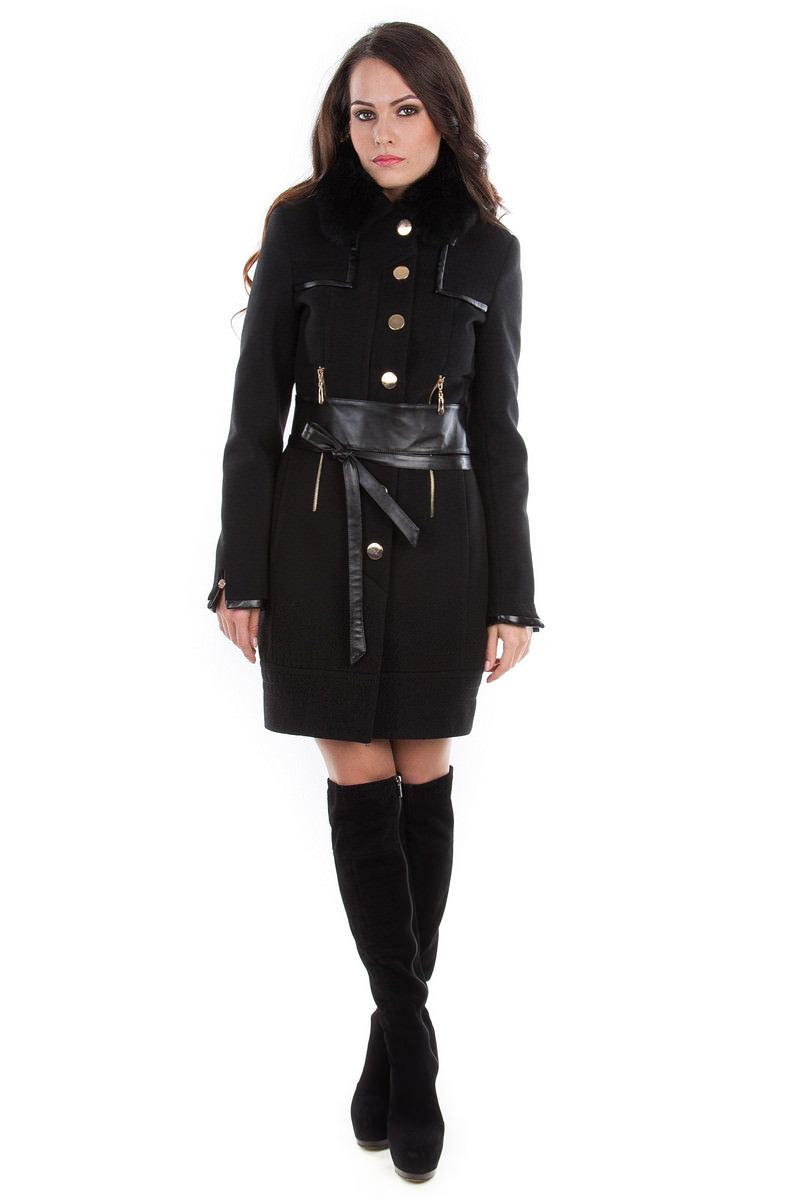 Модус женская одежда от производителя Пальто Марсель песец