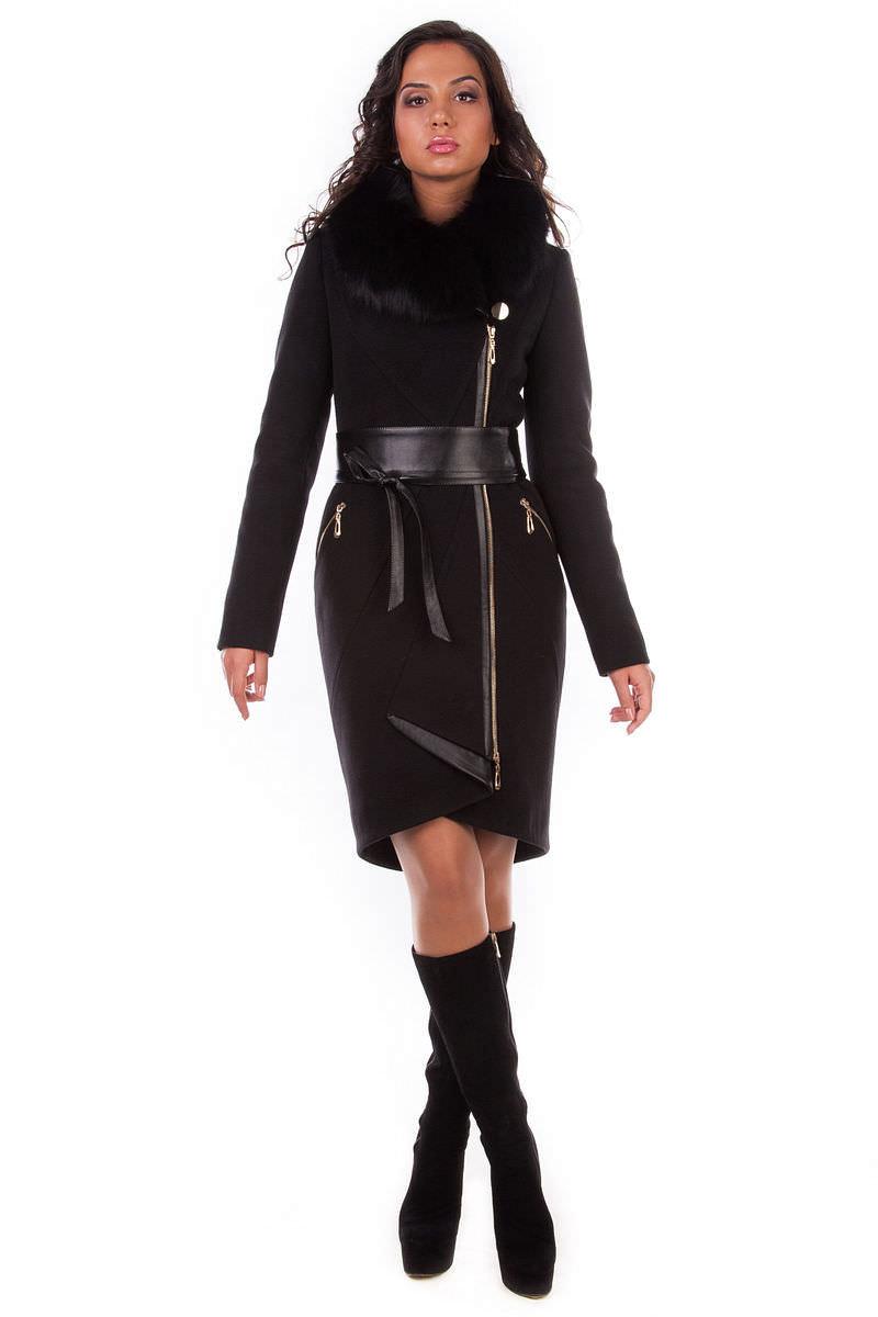 Женское пальто оптом от производителя Modus Пальто Коста Брава песец