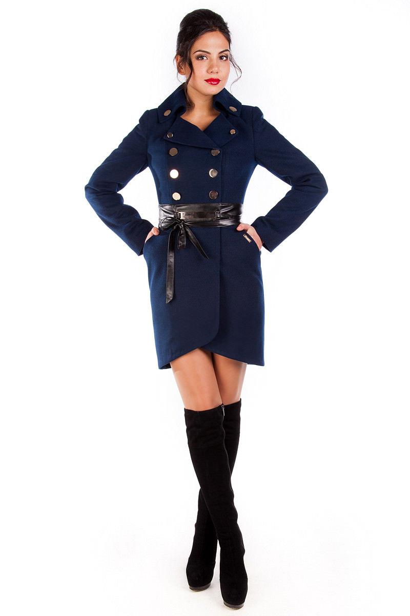 Купить кашемировое пальто оптом от производителя Пальто Кураж 90, Англ.воротник