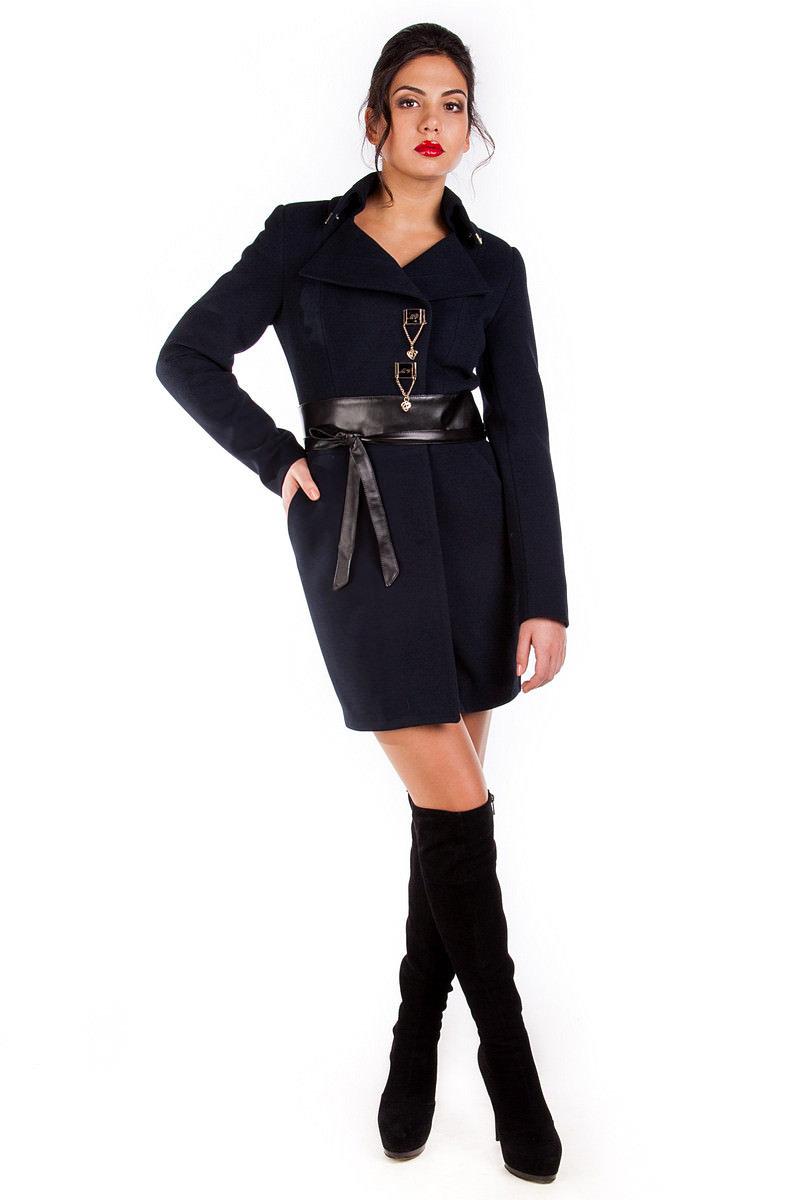 Купить оптом женское пальто недорого Пальто Магия без меха турция элит