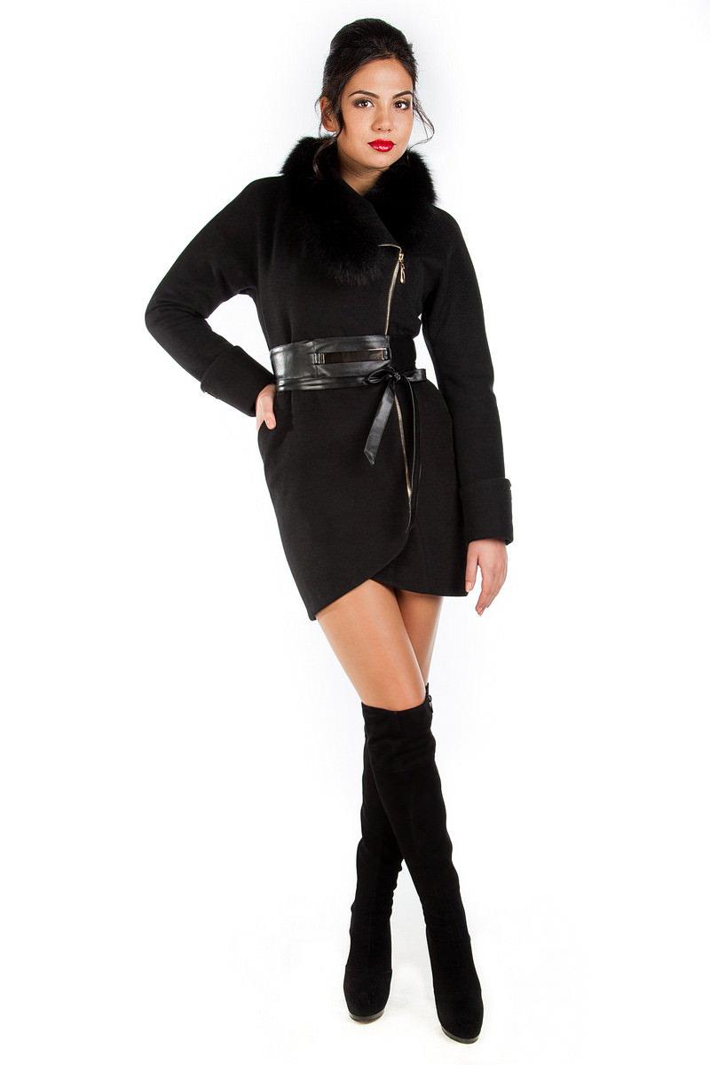Пальто оптом от производителя Modus Пальто Статус зима песец