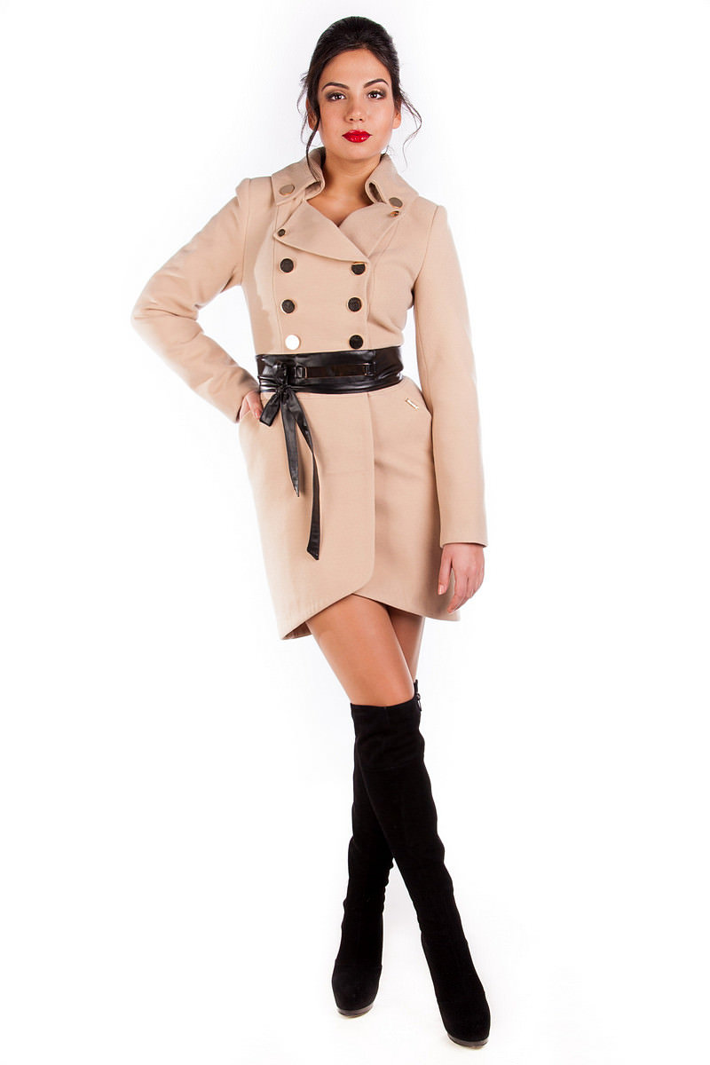 Женская одежда оптом от производителя Modus Пальто Кураж 90, Англ.воротник