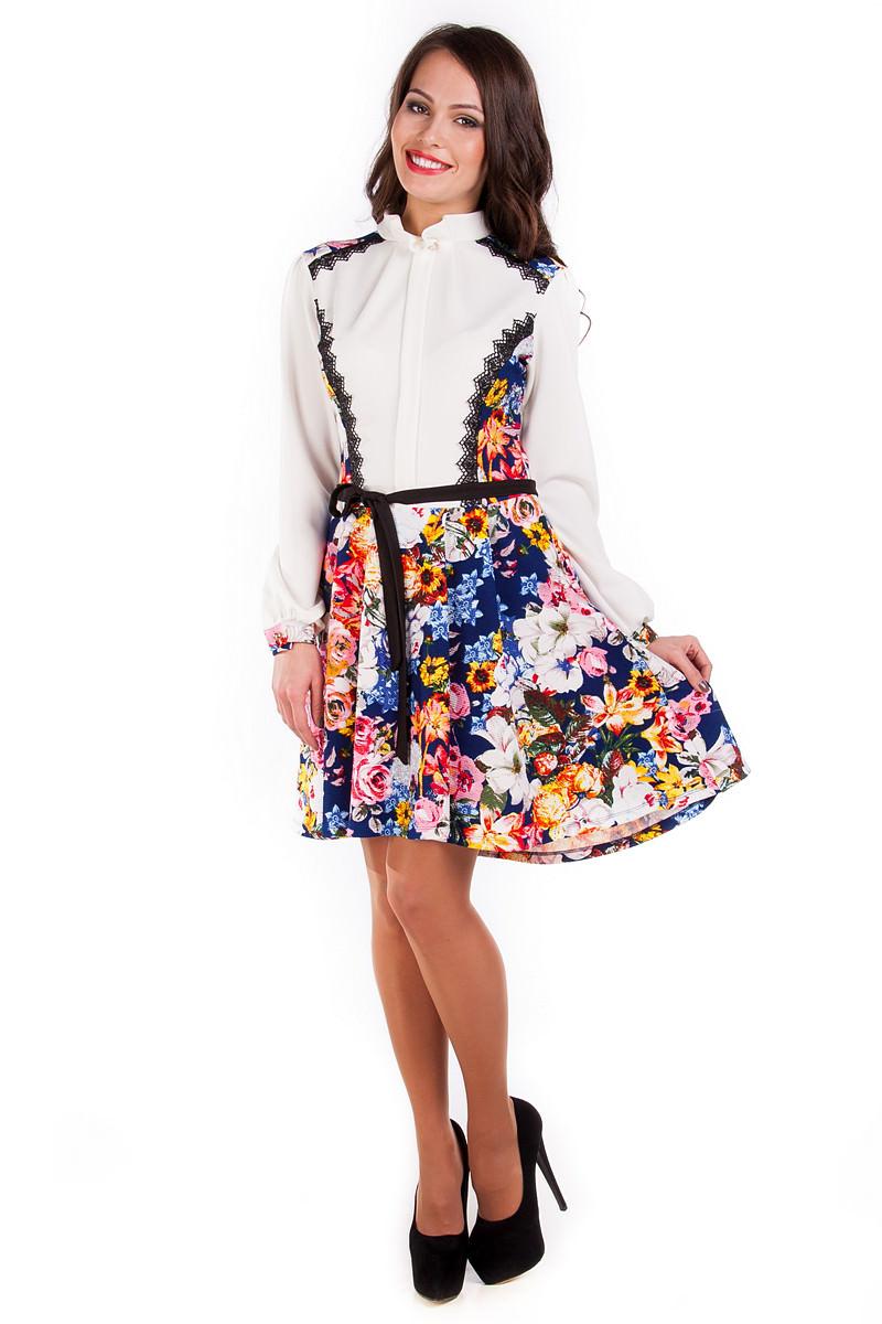 Женские платья оптом от Modus Платье Ланвин принт