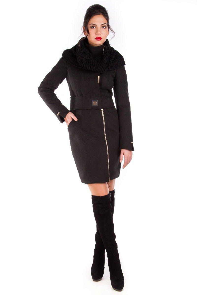 Модус женская одежда от производителя Пальто Монте-Негро турция элит зима хомут