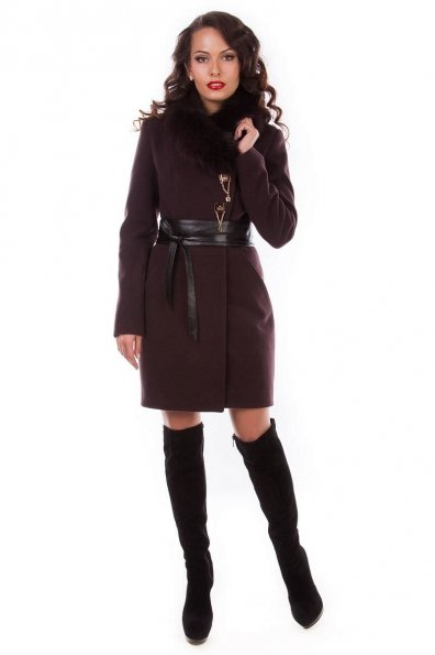 """Купить Пальто """"Магия Песец"""" оптом и в розницу"""
