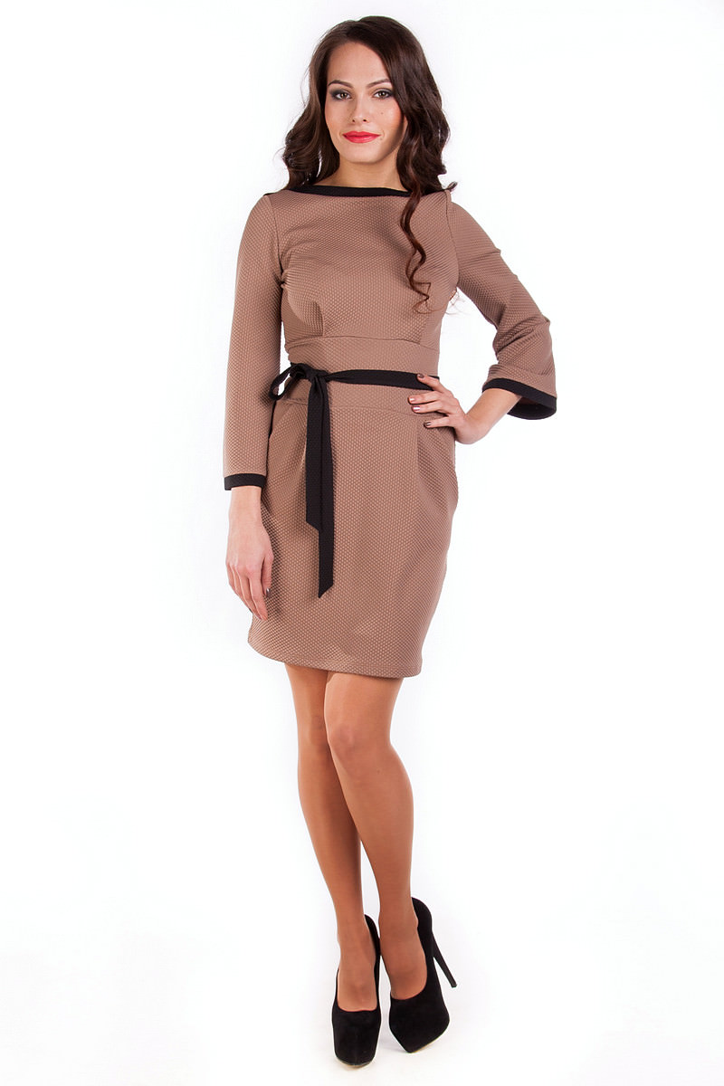 Купить платья оптом от производителя Платье Лора (крупная кукуруза)