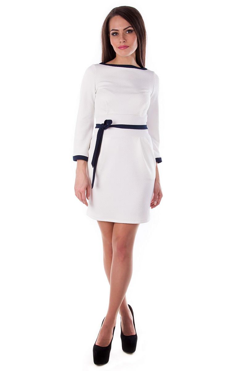 Платья трикотажные оптом от производителя Платье Лора (крупная кукуруза)