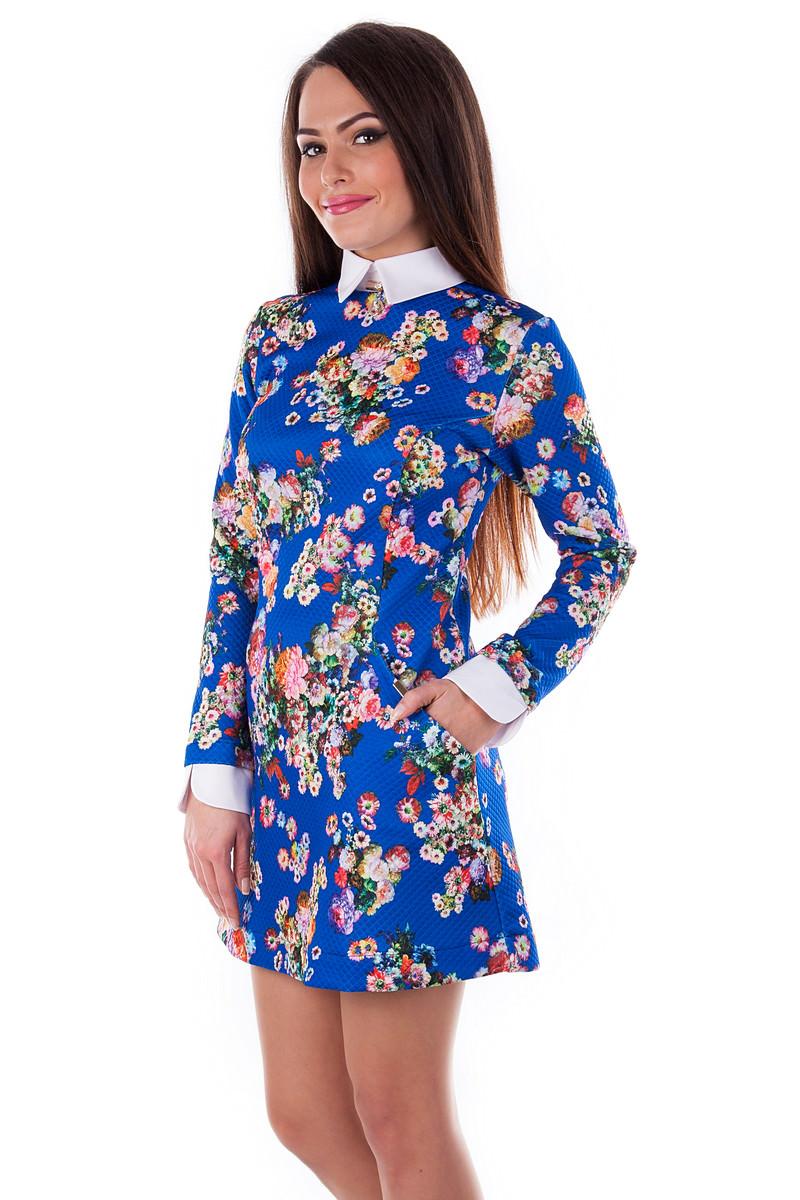 Платье «Рига дайвинг принт»