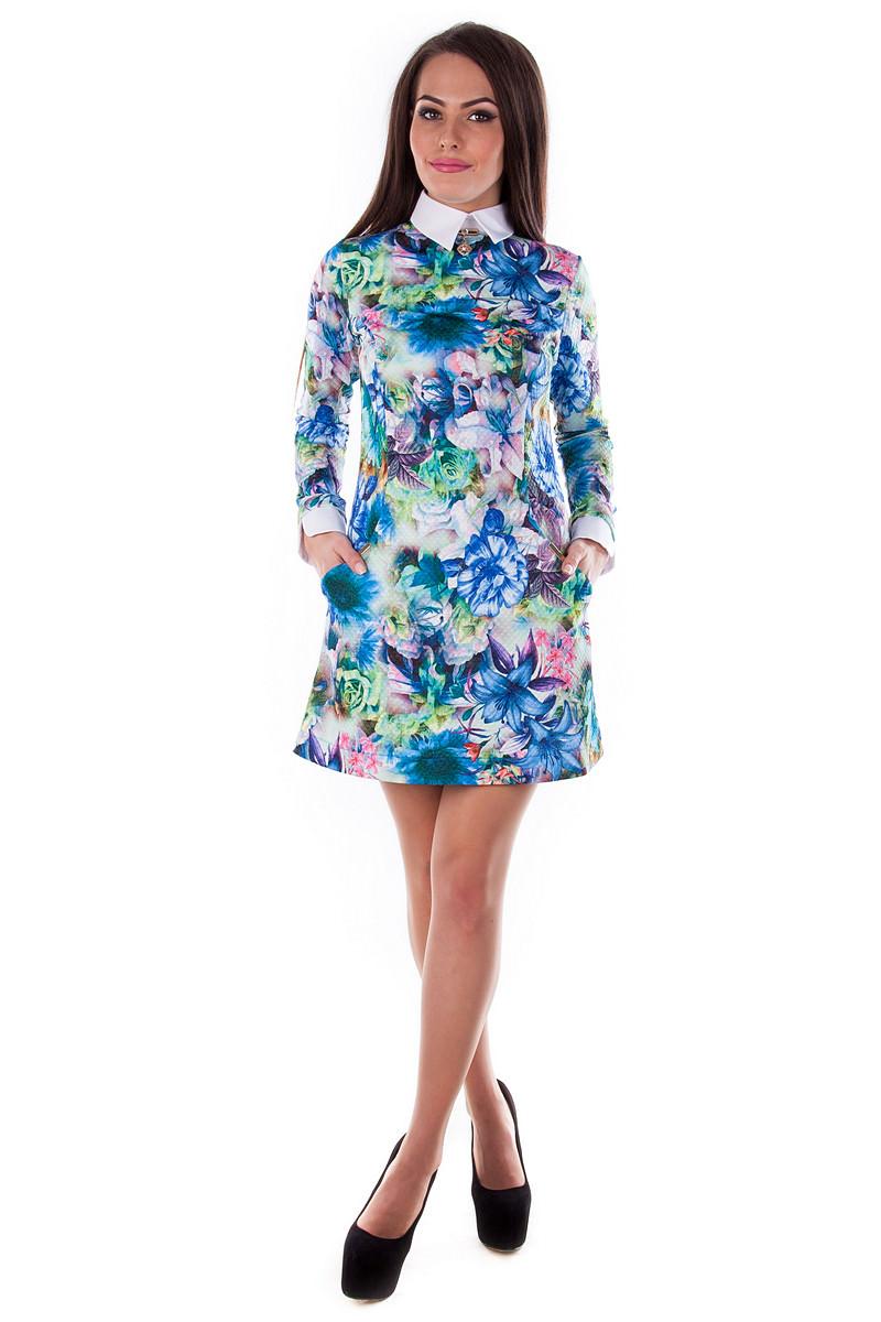Женские платья оптом от Modus Платье Рига дайвинг принт