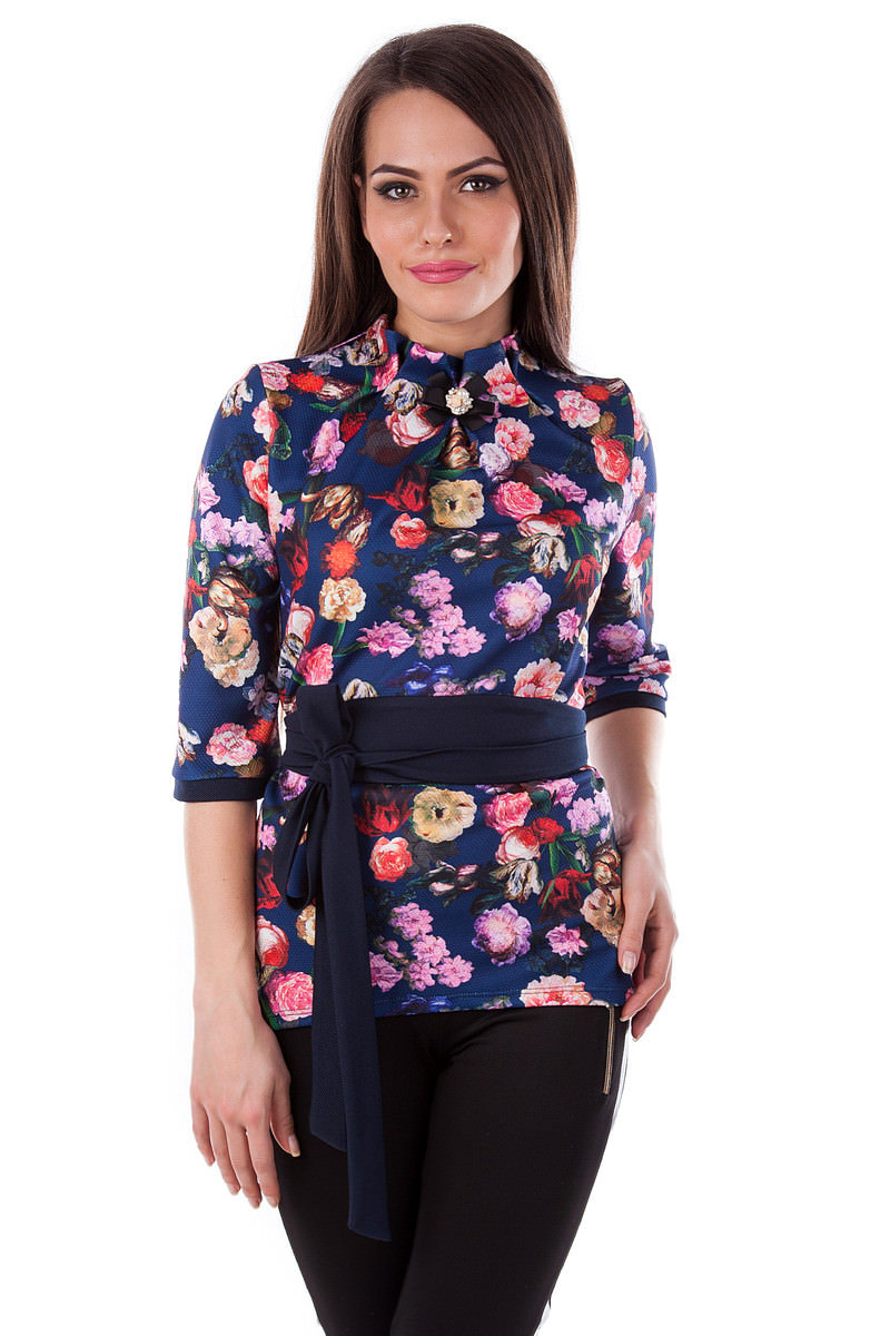 Женская одежда оптом Украина Modus Кофточка Элина принт кукуруза