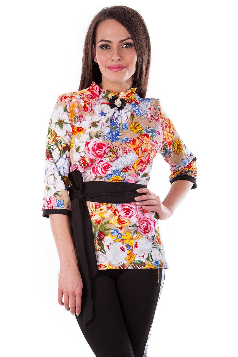 Женская одежда от производителя Modus Кофточка Элина принт кукуруза