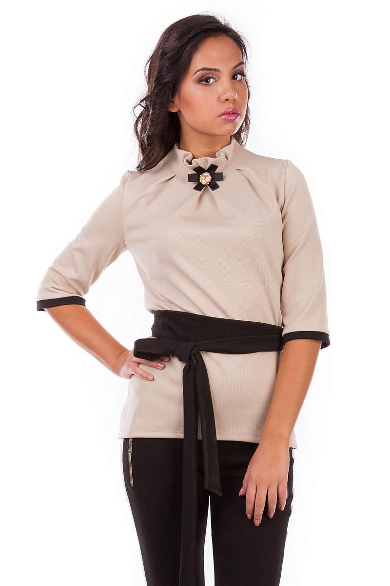 Женская одежда оптом от производителя Кофточка Элина дайв креп