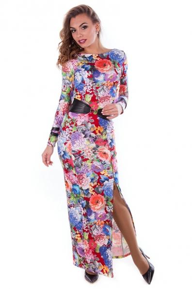 Платье «Ульяна дайвинг принт»