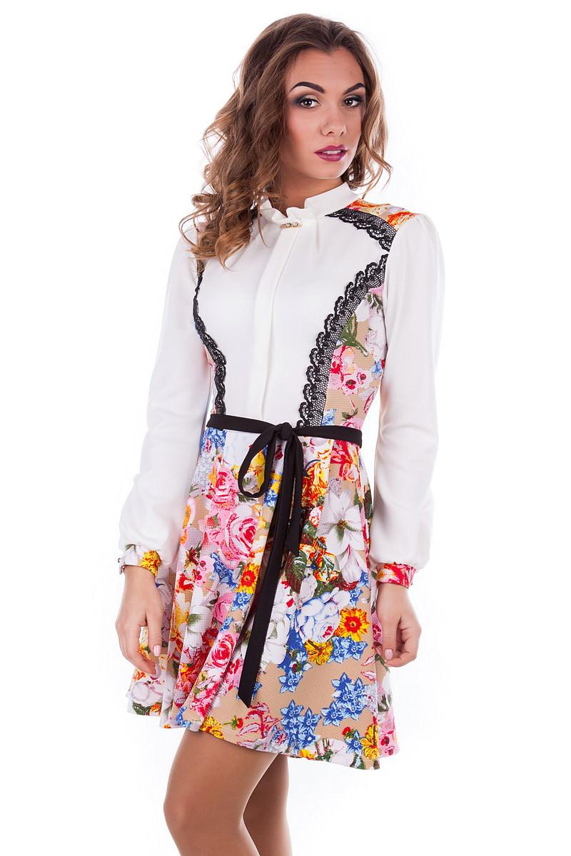 Платье «Ланвин принт»