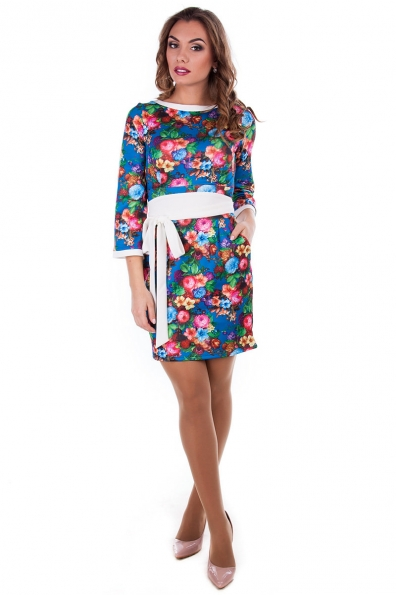 Платье «Лора дайвинг принт»
