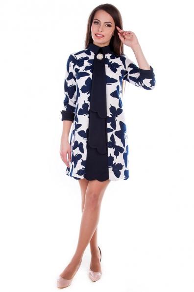 Платье «Миу - Миу принт француз»