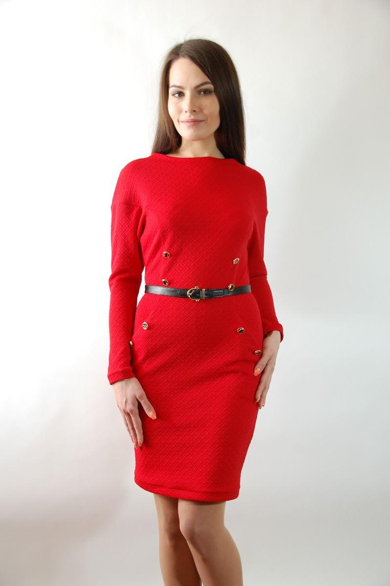d85b5cb4757 Купить платья оптом от производителя Платье Юни дайвинг теснение
