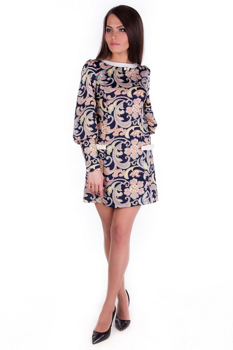 Женские платья оптом от Modus Платье Виолетта дайвинг принт