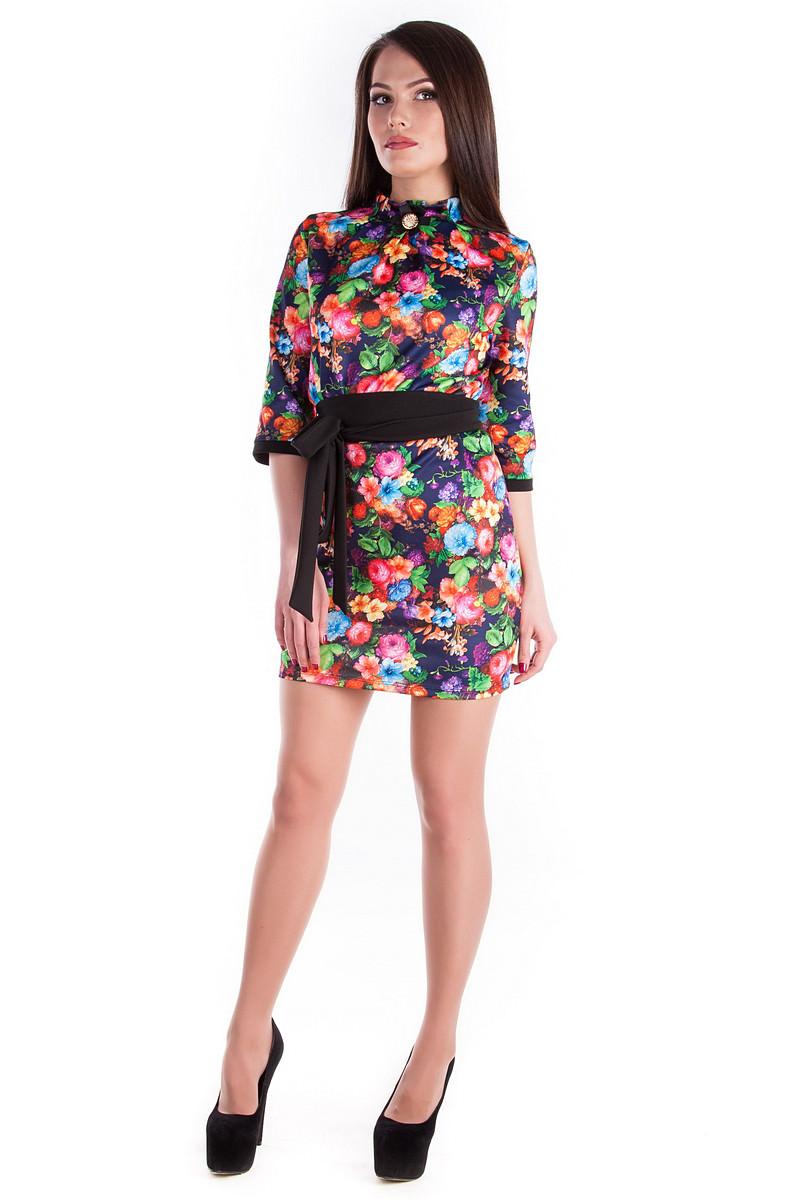 Оптом платье недорого от Modus Платье Элегия дайвинг принт