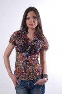 Женская одежда оптом от производителя Modus Блуза Лола к/р 2511