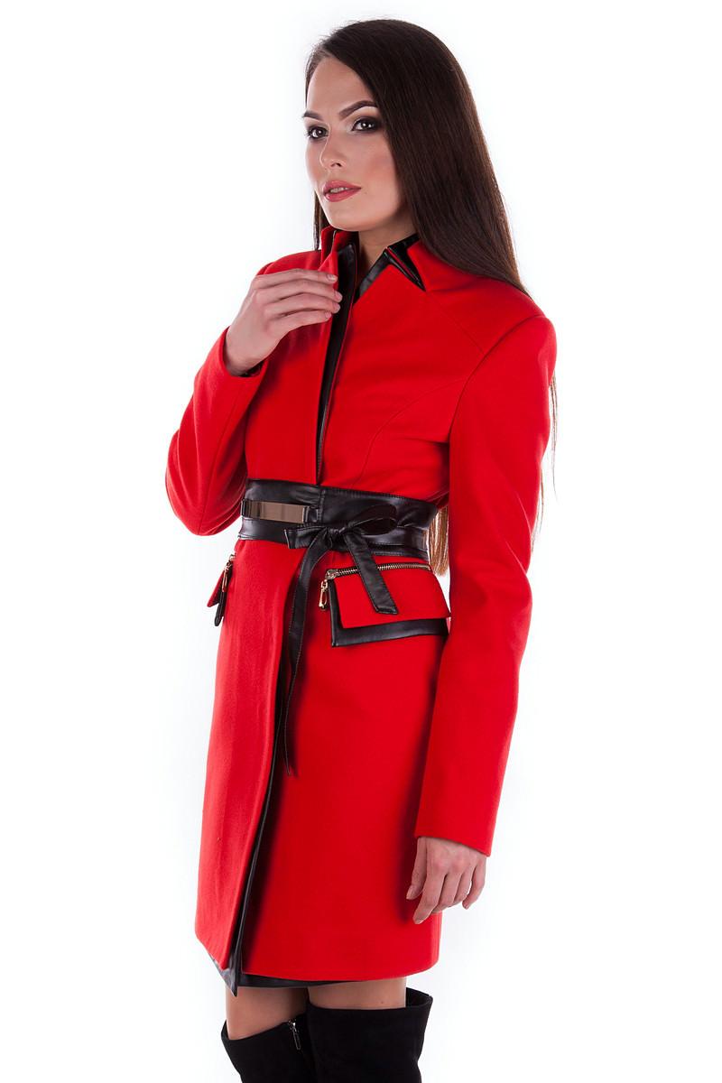 Пальто Аликанте Цвет: Красный Н 20