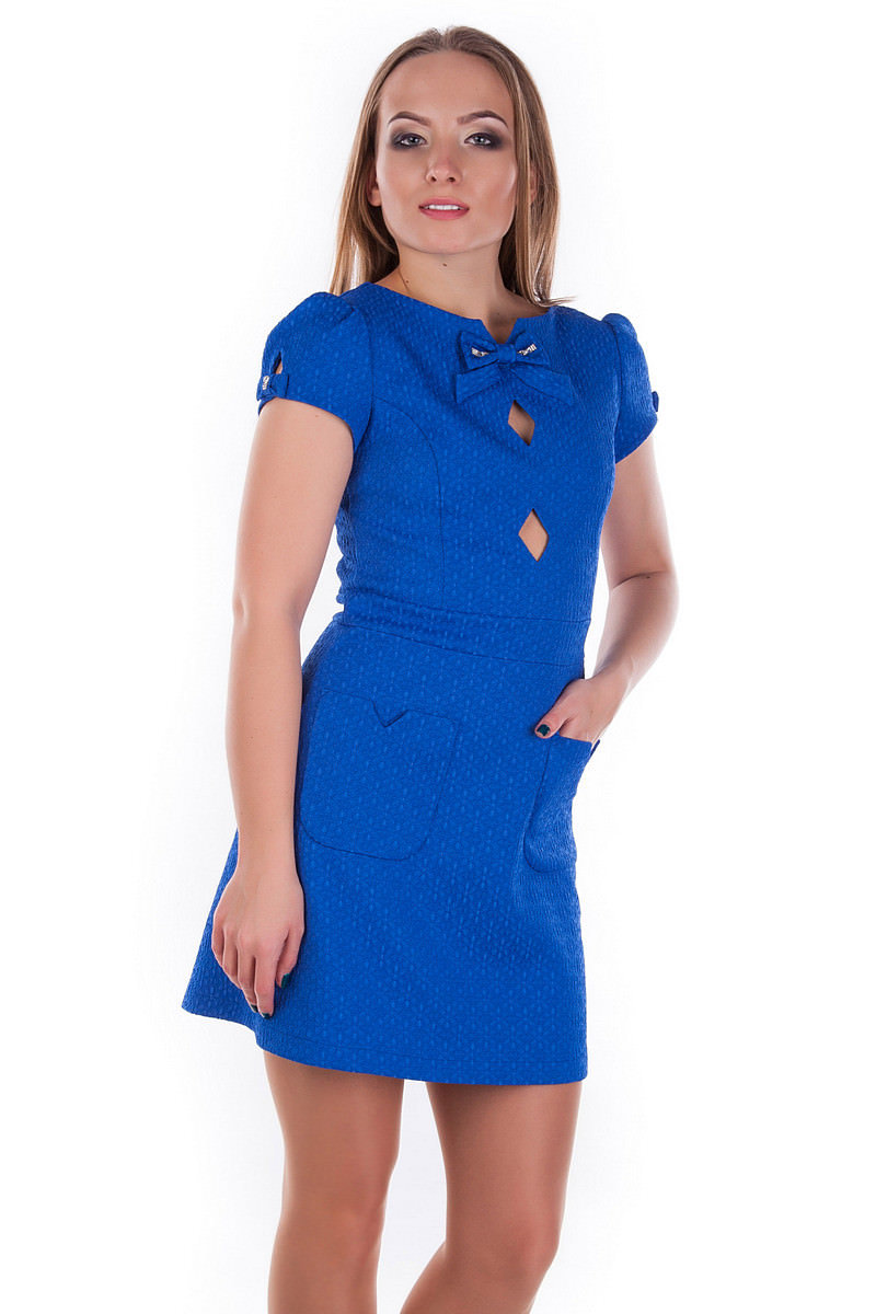 Платье Тиффани 3486 Цвет: Электрик