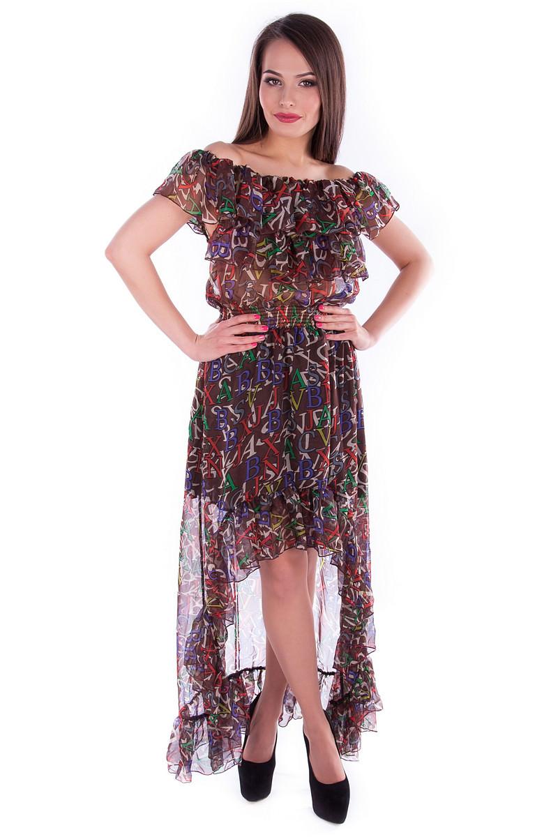 Платья трикотажные оптом от производителя Платья Дея