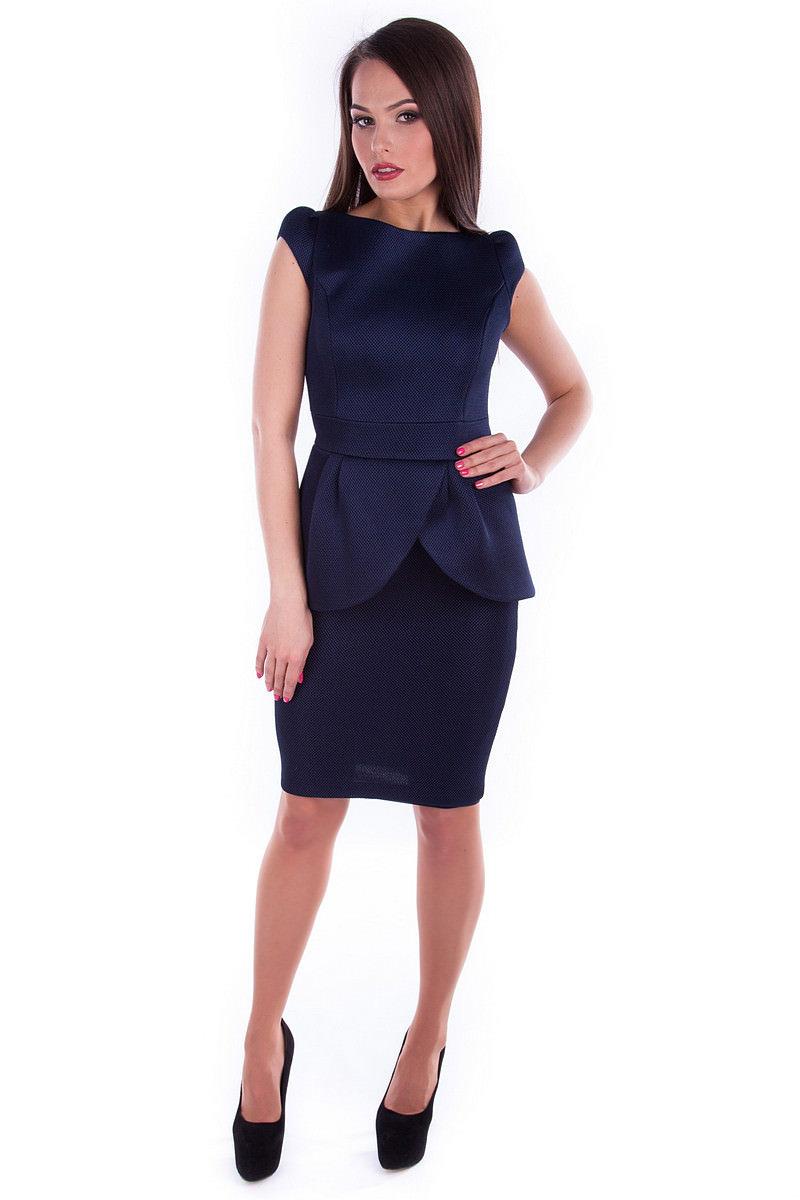 Платья трикотажные оптом от производителя Платье Люкс 3512