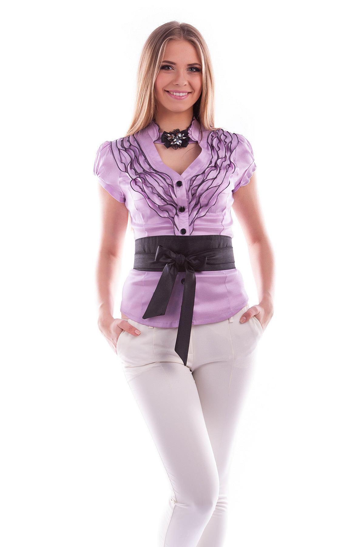 Блузка сирень купить