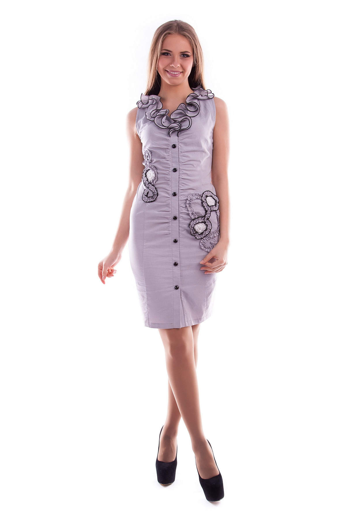 Платья трикотажные оптом от производителя Платье Ирис