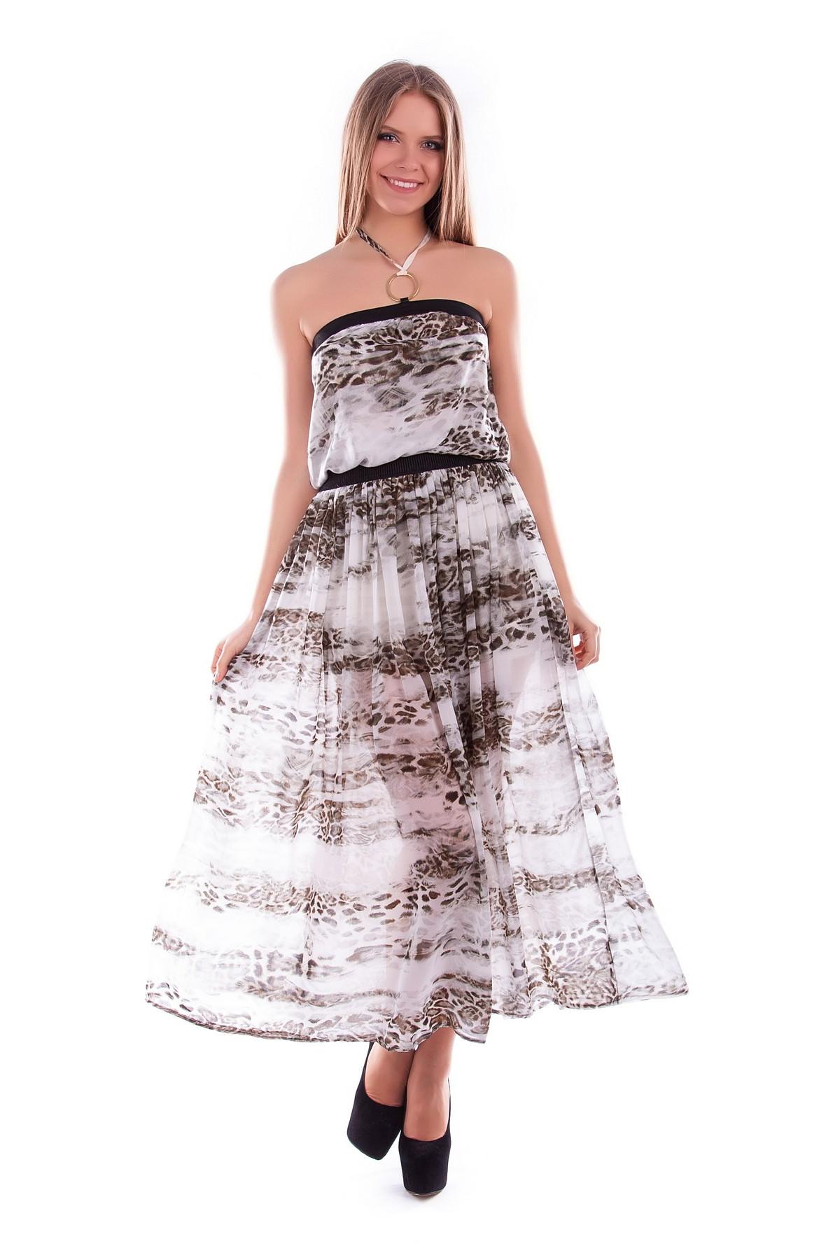 Платья трикотажные оптом от производителя Платье Аква