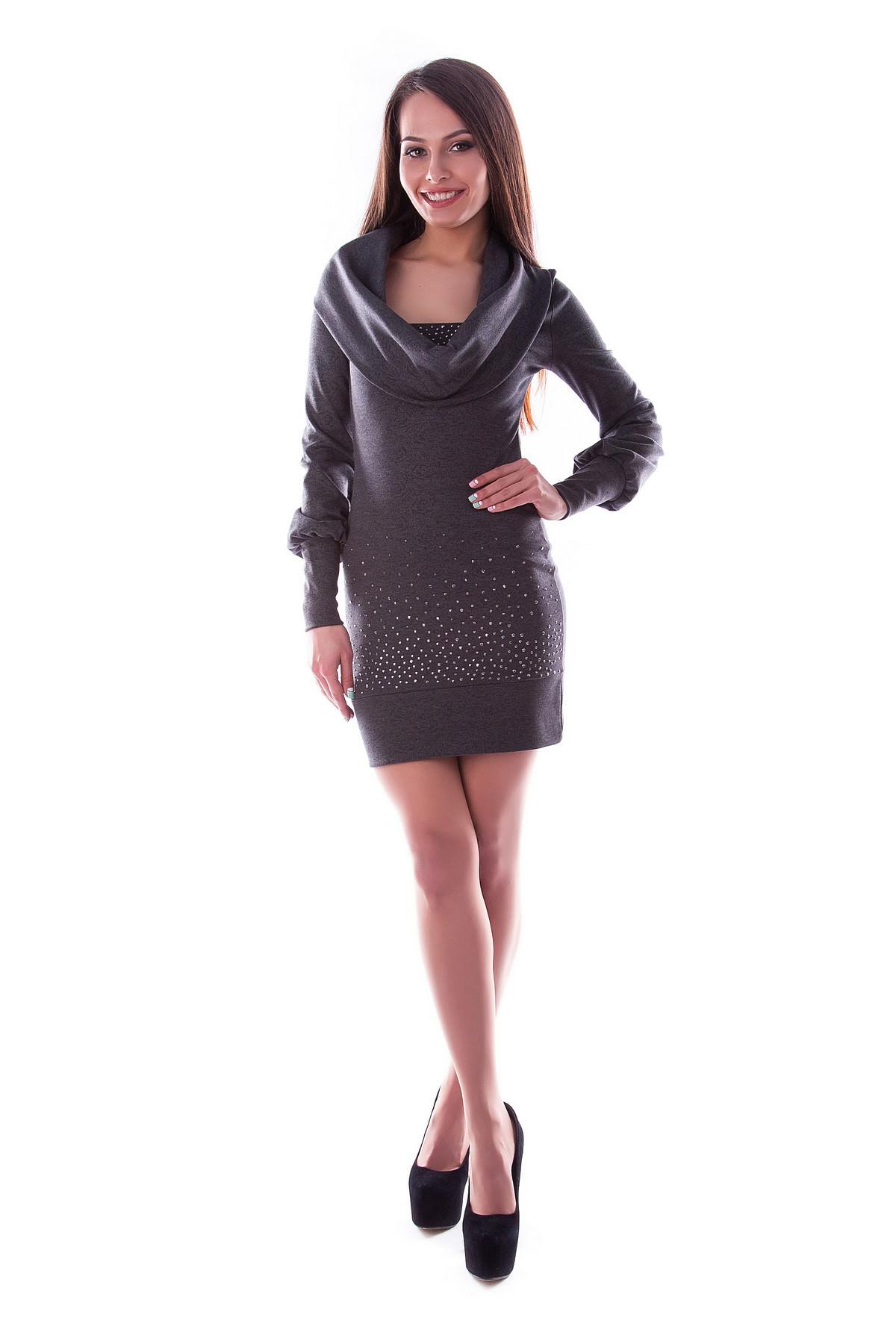 Платья трикотажные оптом от производителя Платье Эпотаж