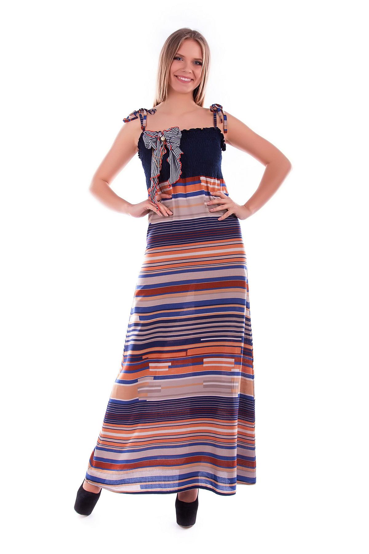Платья трикотажные оптом от производителя Платье Тара