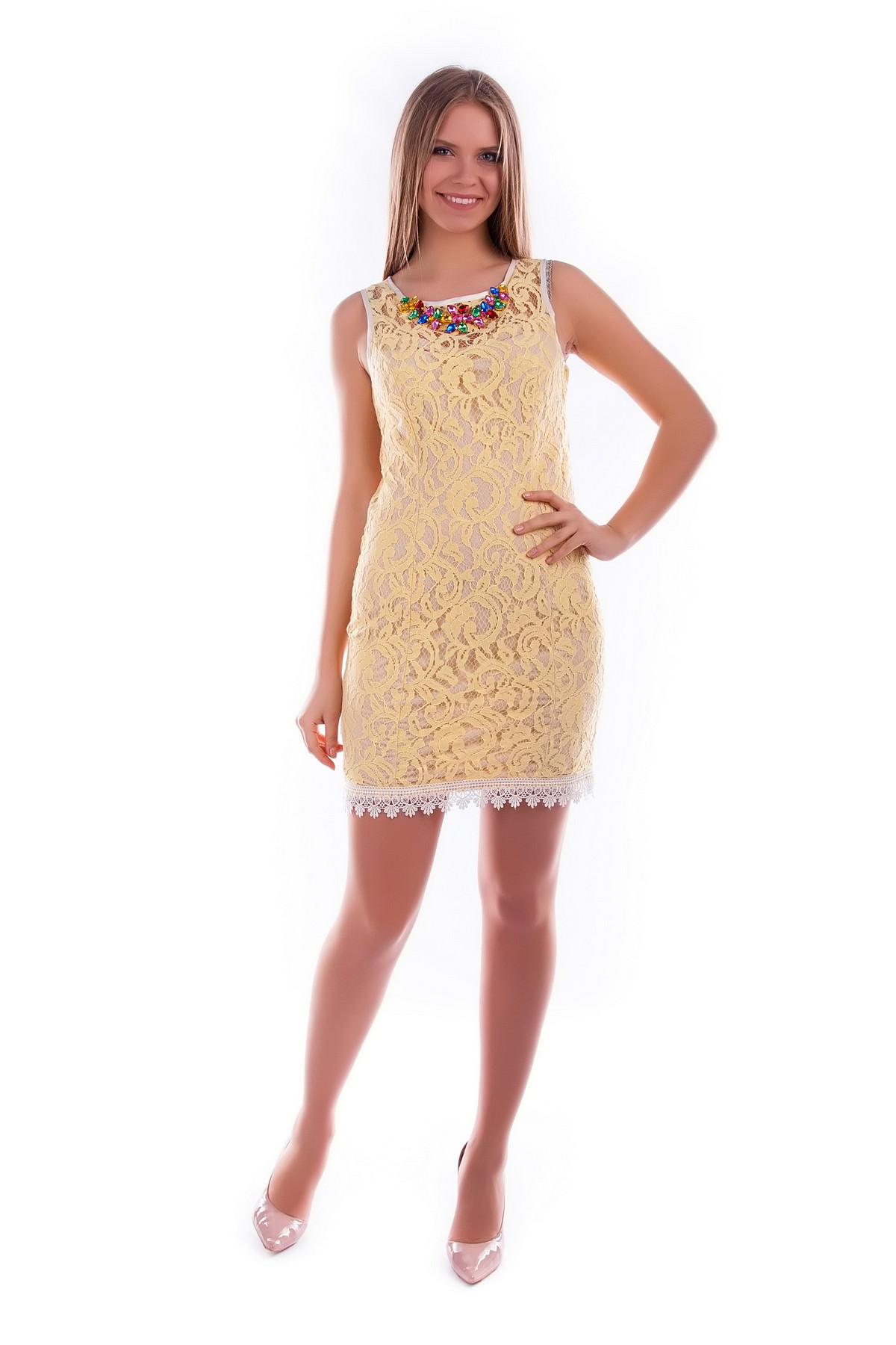 Платья трикотажные оптом от производителя Платье Ангел