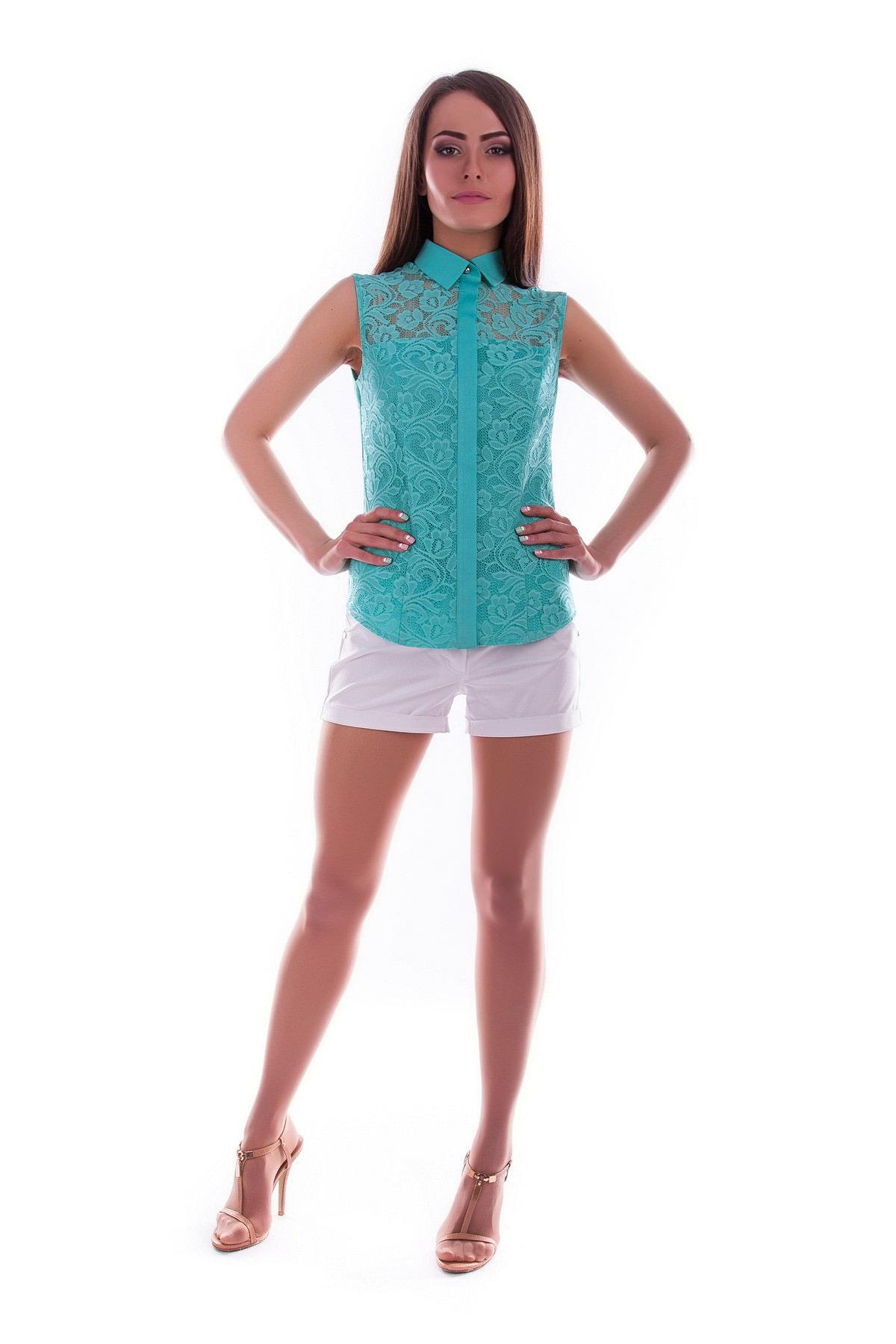 Купить в Украине рубашки женские от производителя Блуза Летиция гипюр*