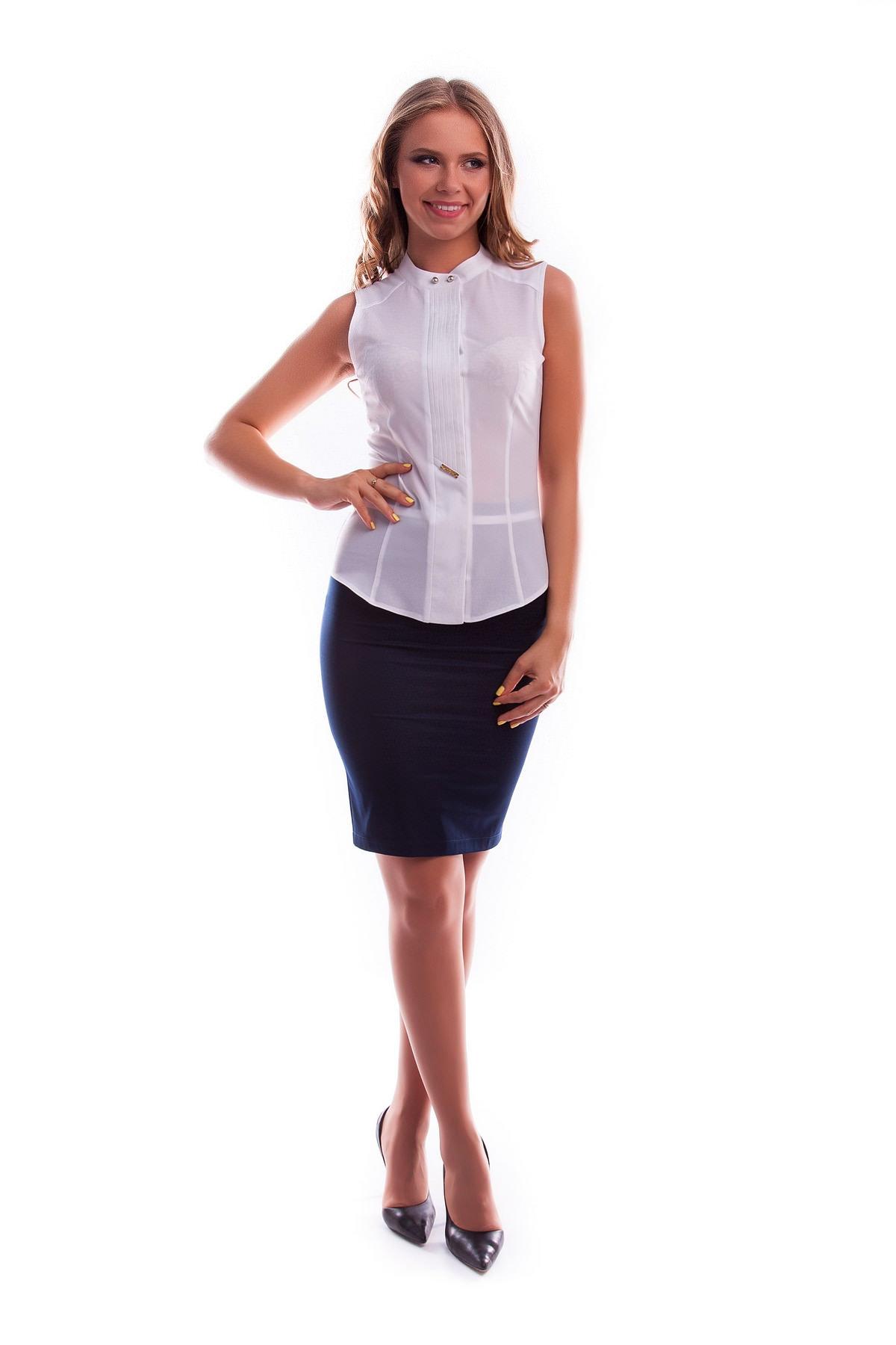 Офисные белые блузки доставка