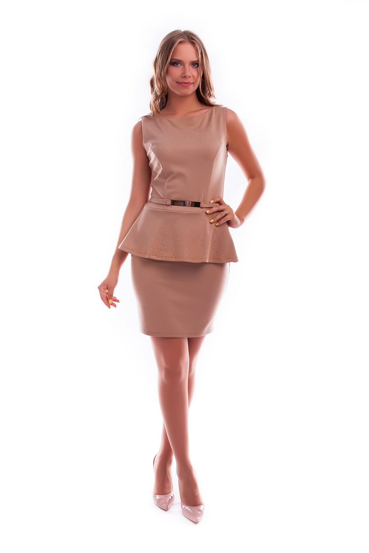Платья трикотажные оптом от производителя Платье Полина
