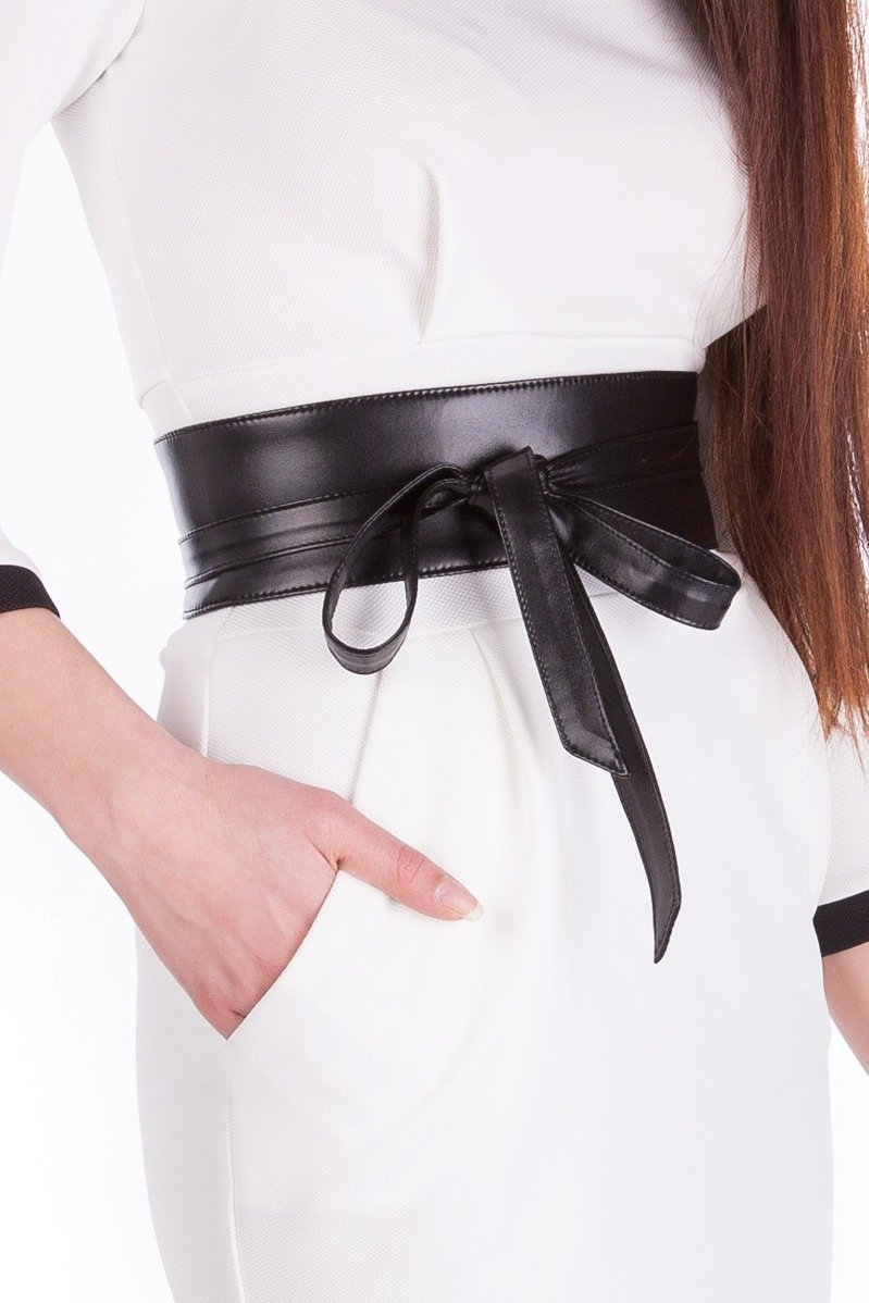 Купить женскую одежду оптом Пояс 7 см экокожа