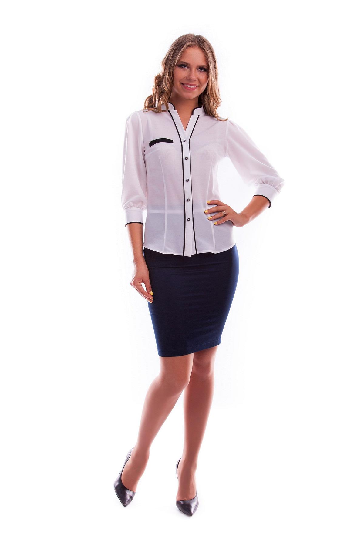 Женская одежда оптом от производителя Modus Блузка Аура креп шифон