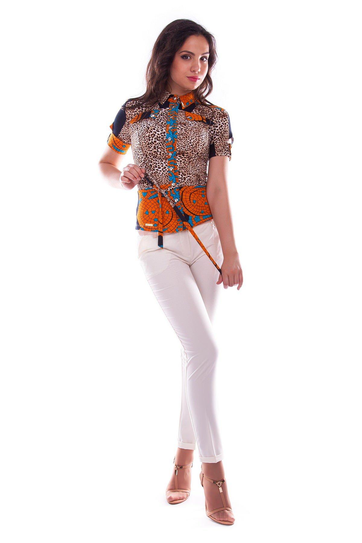 Женская одежда оптом от производителя Modus Блуза Пэнни короткий рукав DG