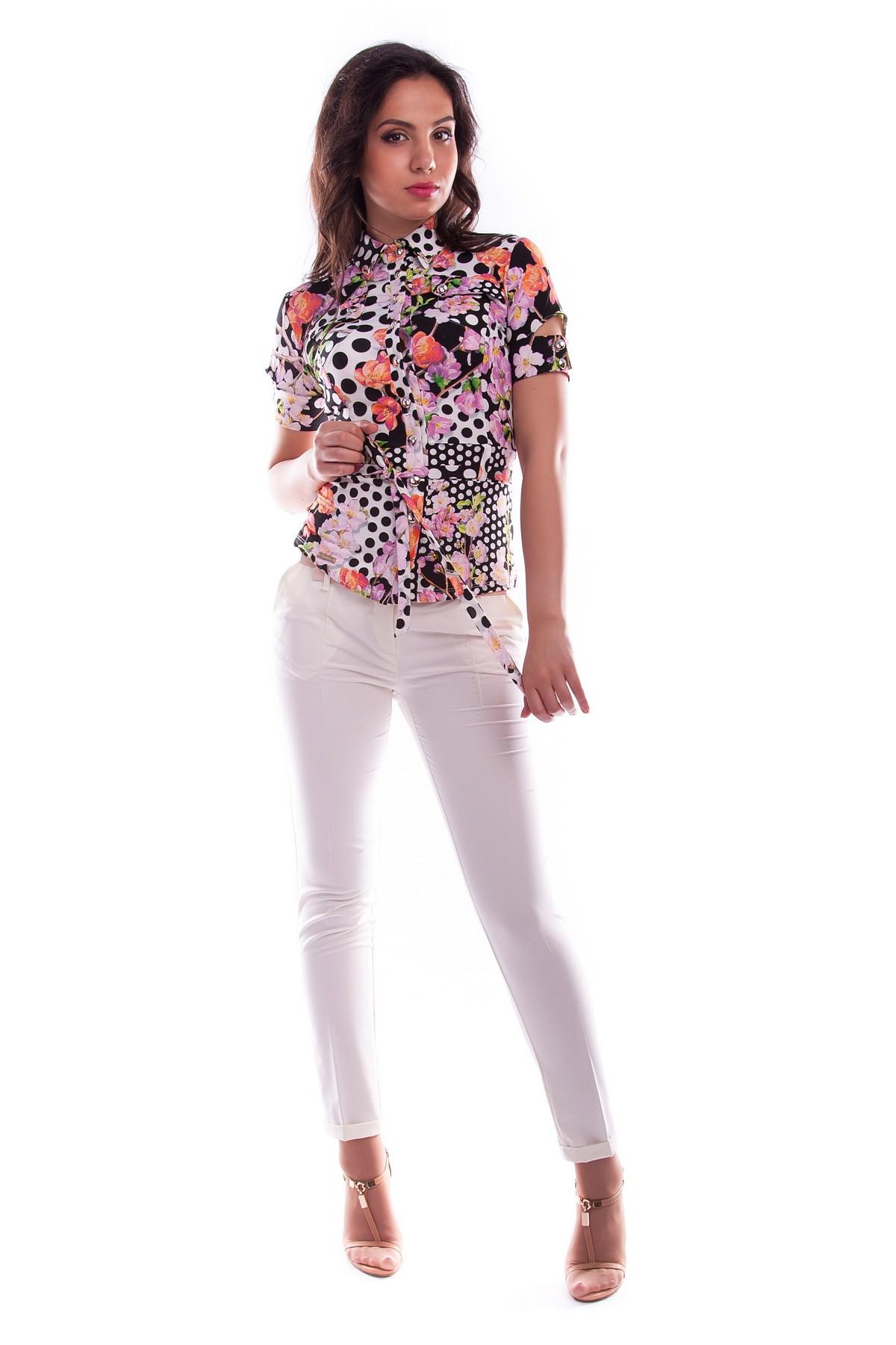 Белые блузки оптом от MODUS Блуза Пэнни короткий рукав