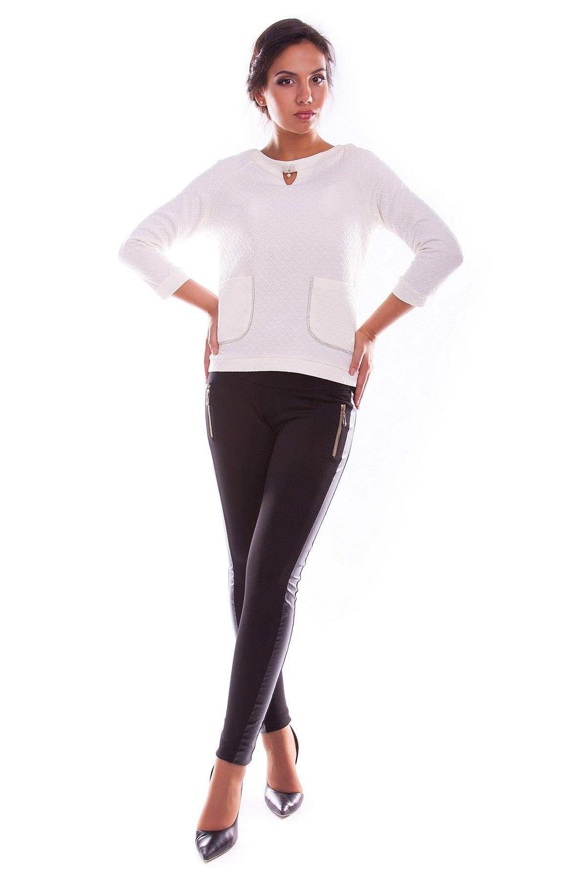 Купить женскую одежду оптом Кофта Булгари дайвинг теснение