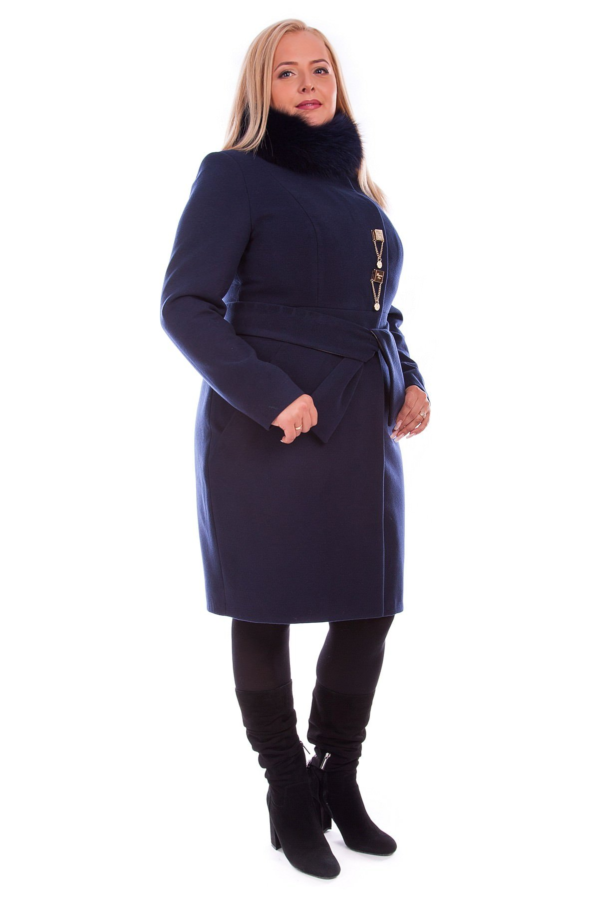 Модус женская одежда оптом недорого Пальто Магия Donna зима