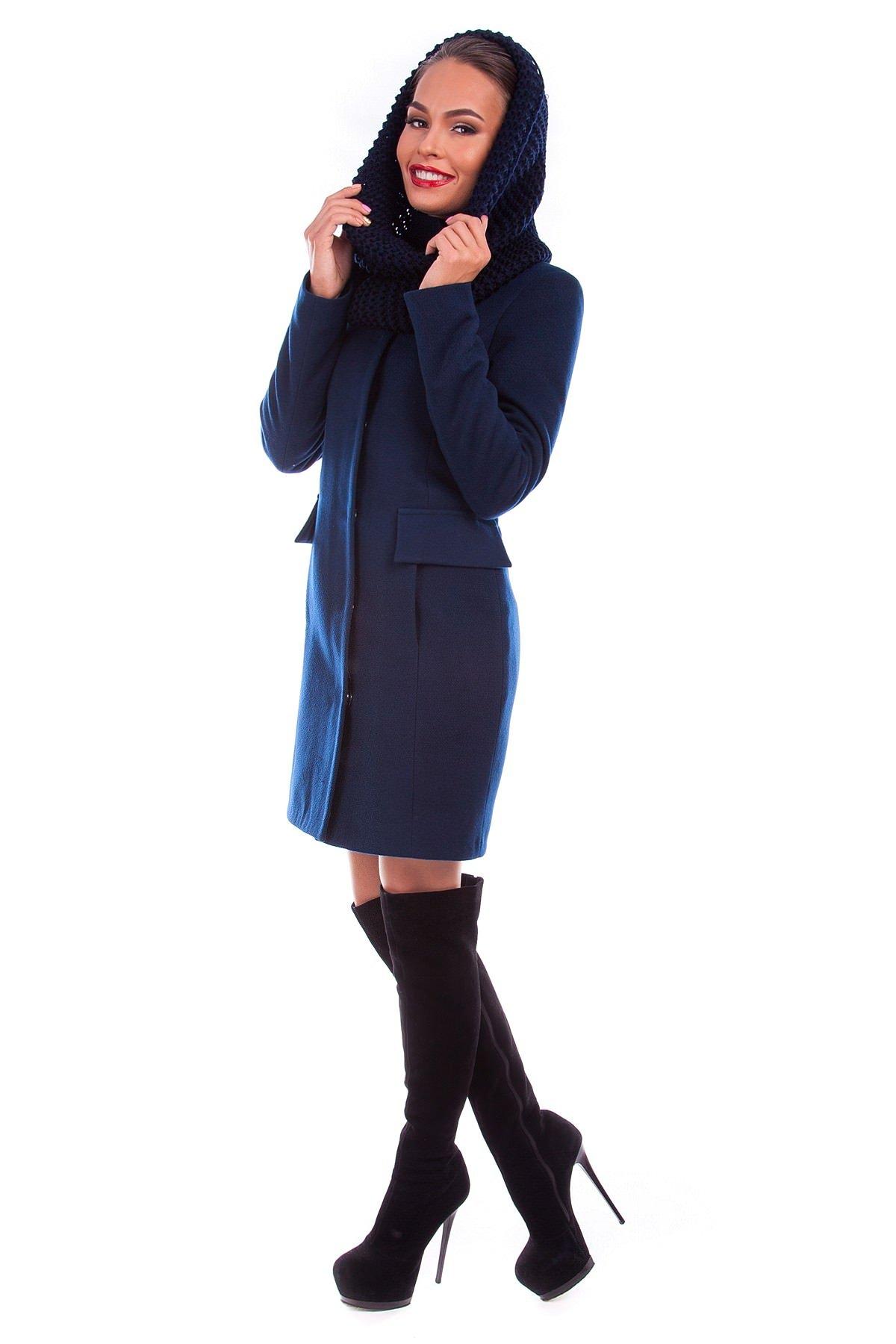 Модус женская одежда оптом недорого Пальто Тасмания хомут зима
