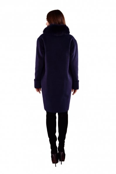 Пальто Бьорк 4318 Цвет: Тёмно-синий