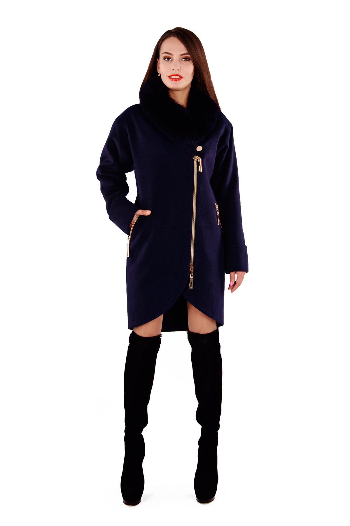 Женское пальто с мехом оптом от Modus Пальто Бьорк 4318