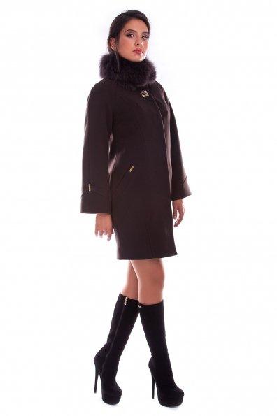 """Купить Пальто """"Дамаск зима песец"""" оптом и в розницу"""