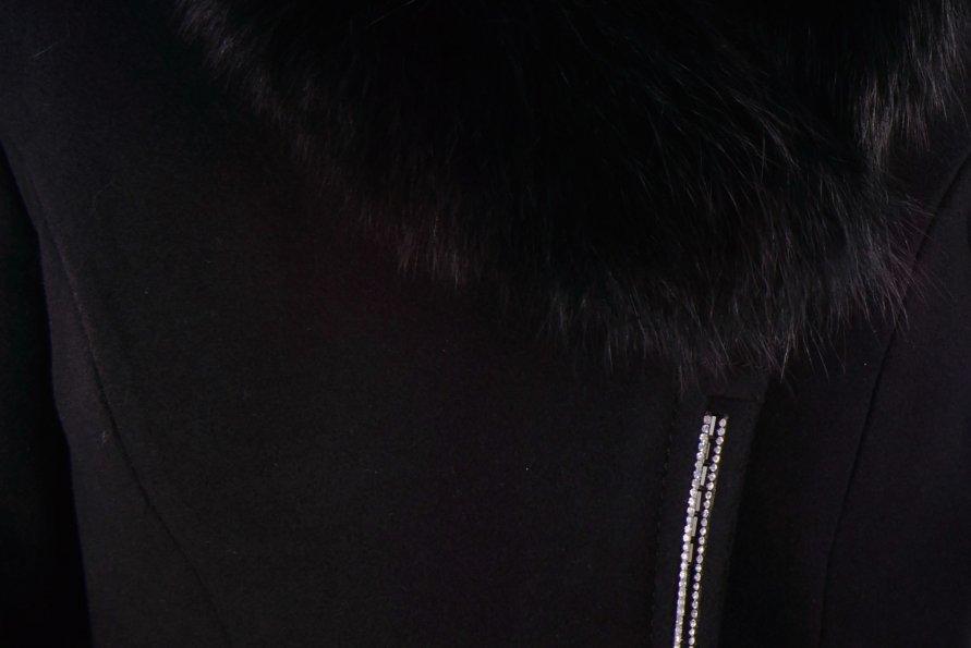Пальто зима Испаньола 4428 Цвет: Черный
