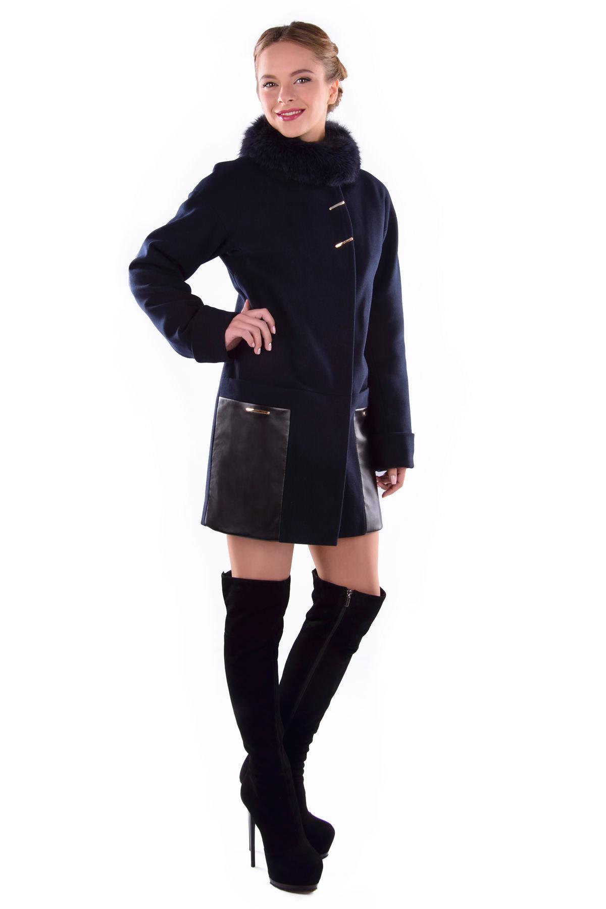 Пальто оптом от производителя Modus Пальто Акра зима песец турция